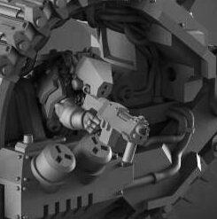 Cyberrat Hunter small Detail