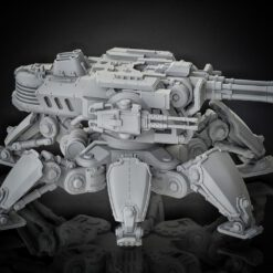 Medium Crawler rotateable with quad autocannon weapon