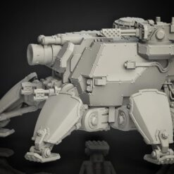 Medium Crawler with Siegegun