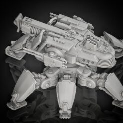 Medium Crawler rotateable with beam cannon and side turrets