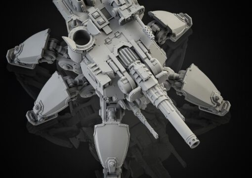 Medium Crawler with N-Laser