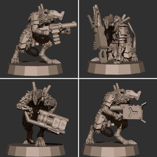 Cyberrat Special Weapon Team