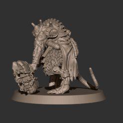 Cyberrat Ogre with Closecombat Weapon