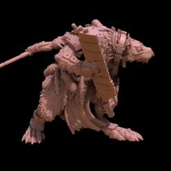 Cyberrat Ogre Detail