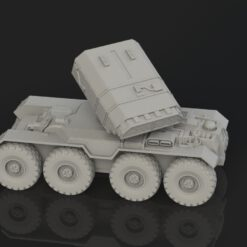 AC8 Aegos chassis with rocket artillery turret