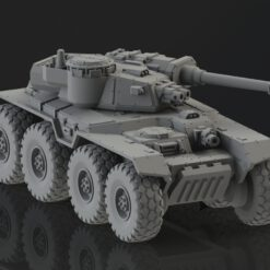AC8 Aegos chassis with autoloader turret
