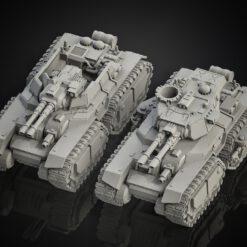 Medium Tank Double Track line