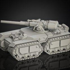 Medium Tank Double Track Battle Tank
